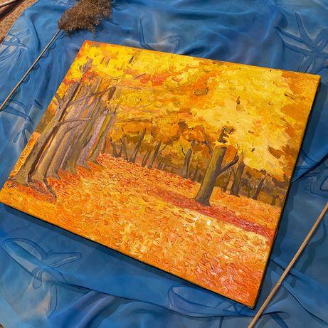 """Картина """" Осенний блюз"""""""