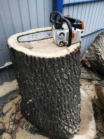 Колоды дубовые , высота 87 - 110 см , диаметр 60-65