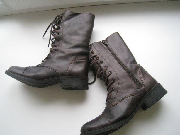 женские деми сапоги ботинки Clarks, р.39, 26см
