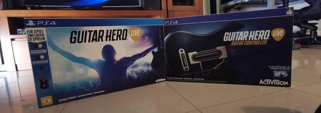 Guitar hero jogo ao vivo ps4 Pacote incluido 2 guitarras e o jogo