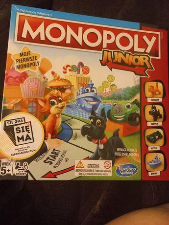 Nowa gra monopoly junior folia