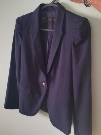 Blazer Zara azul marinho