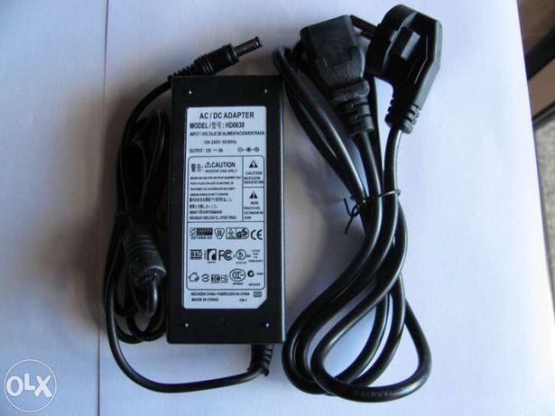 Transformador 12V DC 6A para fitas led e outros usos