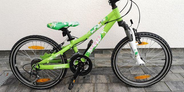 Piękny rower Scott Contessa dla dziewczynki ok.4-7 lat koła 20 cali