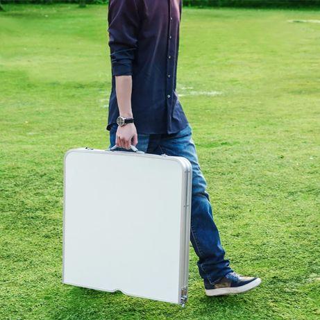 Стол для пикника туристический раскладной 4 стула в чемодане. Качество
