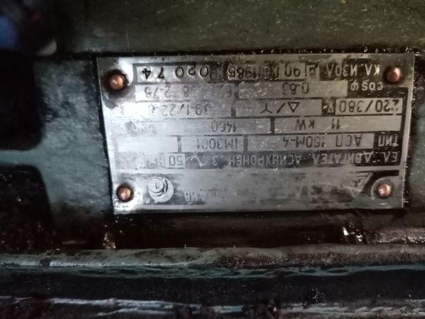 Silnik kołnierzowy 11 kw