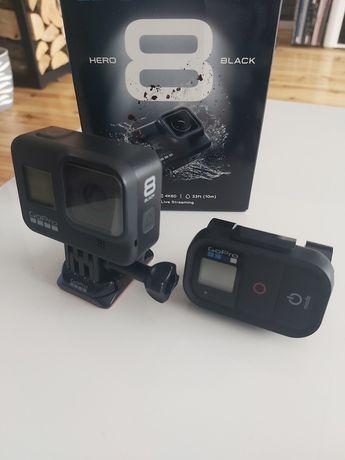 Kamera sportowa GoPro 8 Black + pilot + 128GB.Gwarancja!