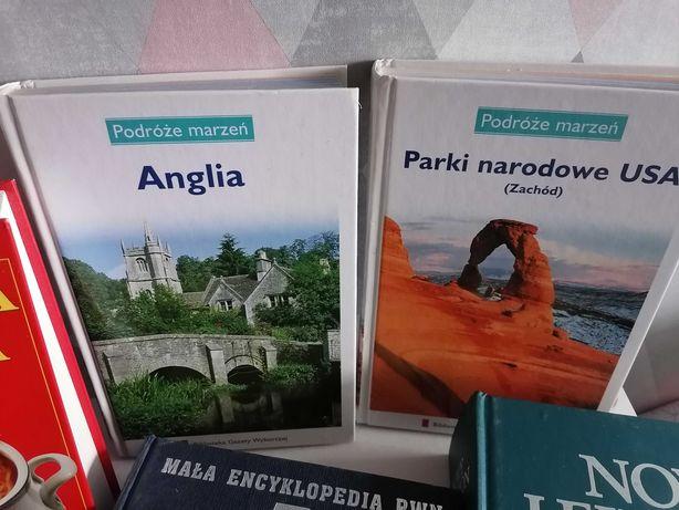 Książki encyklopedie, kulinarne itd