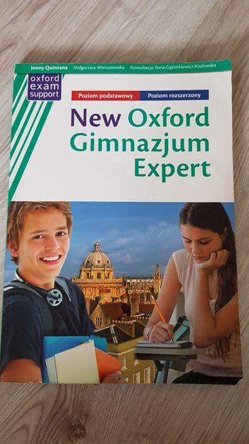 New Oxford Gimnazjum Expert, podręcznik z repetytorium języka ang