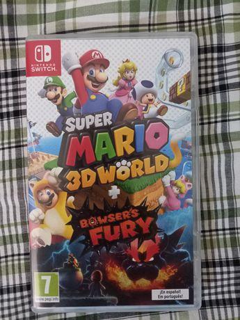 Super Mario 3D world + bowser fury.