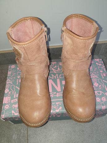 Nelli blu kozaczki botki dla dziewczynki rozmiar 29