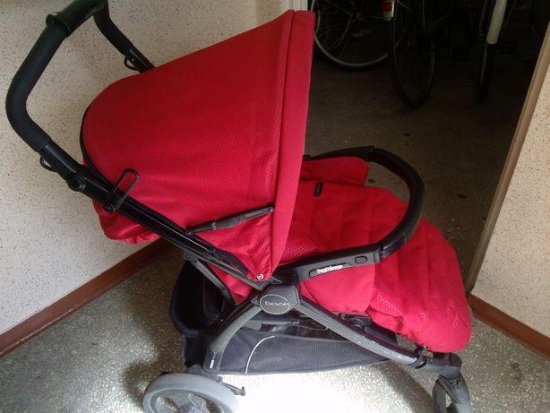 Wózek spacerowy Peg Perego book completo mod red czerwony 500zł.