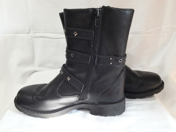Cапожки утепленные мехом мягкие легкие ботинки детские