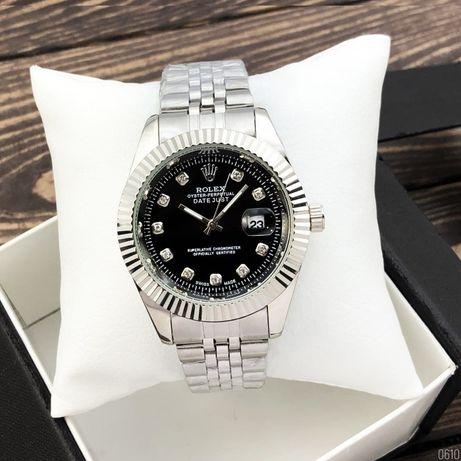 Часы наручные кварцевые в стиле Rolex Date Just