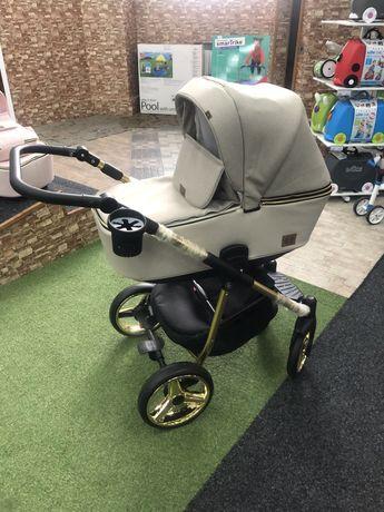 Універсальна дитяча коляска 2 в 1 Adamex Reggio Limited Chrom, Y847