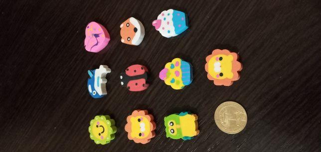 Канцелярские товары: ластик ( резинка), ручка декоративная шарикова