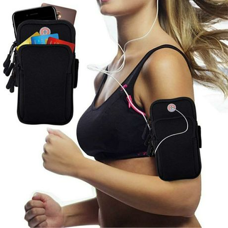 Cумка для бега, сумка чехол на руку для смартфона, спортивная сумка