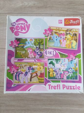 Puzzle my litle Pony 4 w 1