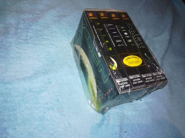 Alien Saga VHS Folia