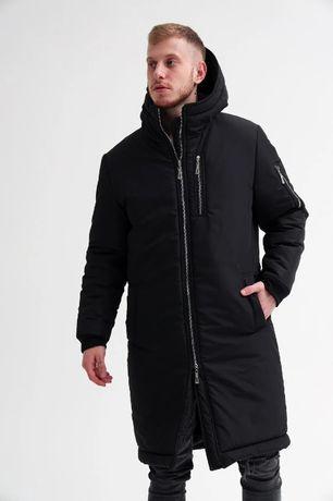 Парка мужская ЗИМНЯЯ до -30*С   пальто куртка пуховик чоловіча зимова