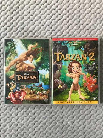 """Tarzan 1-2""- 2 bajki Walta Disneya DVD (polski dubbing)"
