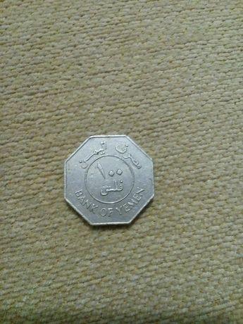 НДРЙ Монета Йемен 100 филсов 1981 юго-западная Азия