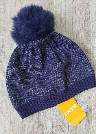 Jymboree шапочка с помпоном для маленькой модницы. Новая.