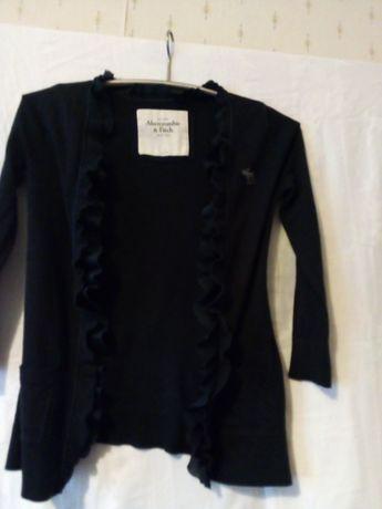 Sweterek granatowy Abercrombie & Fitch rozmiar S
