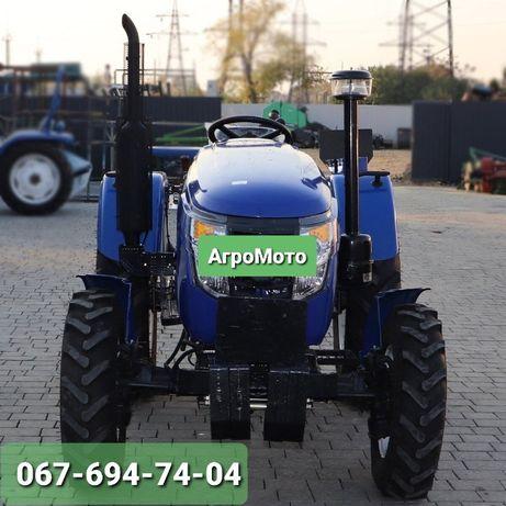 Трактор DW 244 AHTXD, 3 цил., ГУР, КПП (4+1)х2, Двухдисковое Сцепление