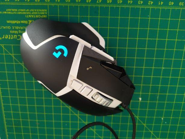 myszka dla gracza Logitech G502 z uszkodzonym scrollem