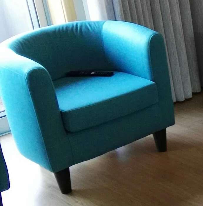 Cadeirão azul Lordelo - imagem 1