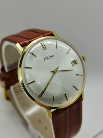 Roamer zegarek 34 mm Stan !! Swiss Made lata '60