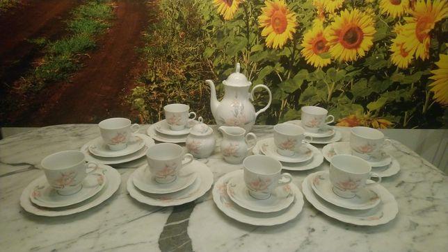 Serwis kawowy na 9 osób z Bavarii / Rosiau