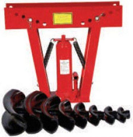 Curvadora de tubos hidráulica capacidade 16 ton 6 matrizes