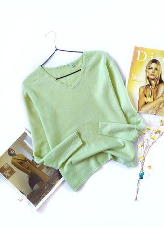 Стильный кашемировый пуловер
