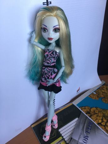 Кукла Лагуна Блю Страх Камера Мотор Monster High Монстер хай