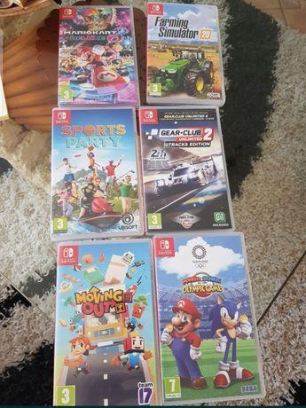 Vendo jogos Nintendo switch