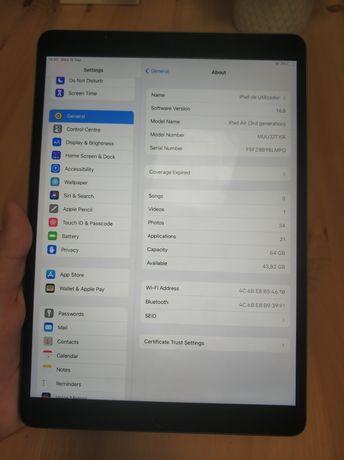 iPad Air 3 + Smart Keyboard + Apple Pencil