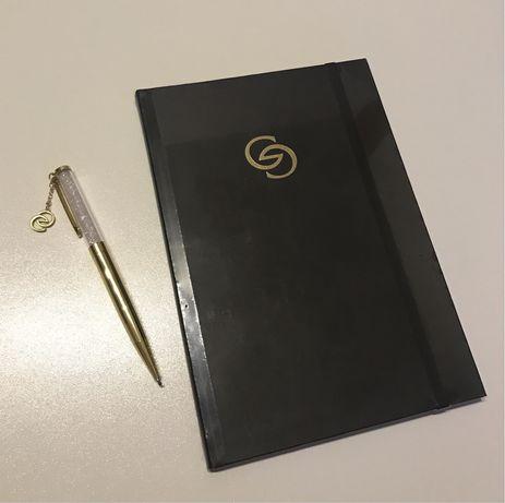 Notes i długopis na prezent upominek GG