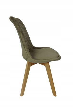 Krzesło tapicerowane RIO CAPPUCCINO pikowane