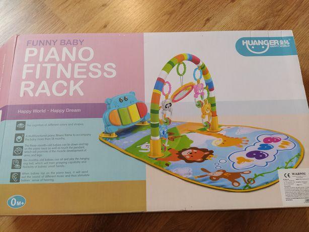 Grająca mata dla niemowląt Piano Fitness Rack