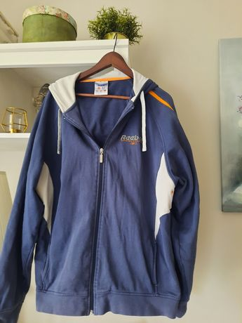 Bluza z kapturem Reebok XL oversize