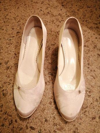 Buty ślubne/ białe