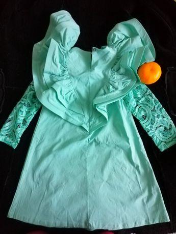 Платье для принцесы 97% coton, отличный подарок!