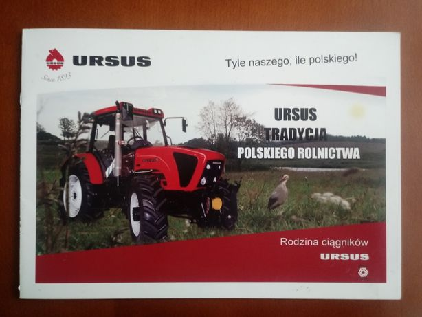 Prospekt URSUS kolekcja sadowniczy rolniczy międzyrzędowy komunalny