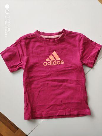 Koszula adidas róż. 104 cm