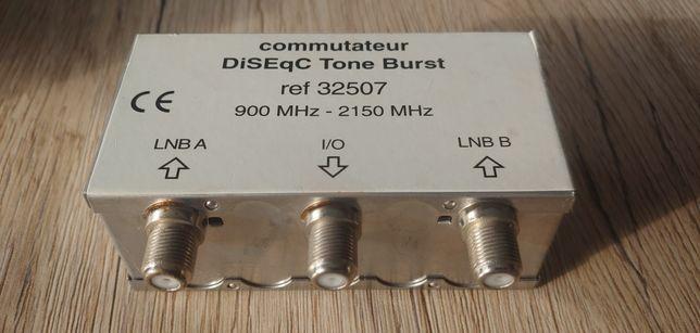 Przełącznik sat diseqc 2x1