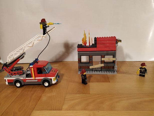 Lego 60003 Samochód straży pożarnej gaszący dom+ instrukcja!