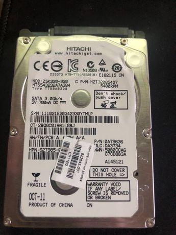Жесткий диск для ноутбука 2.5 HITACHI 320gb