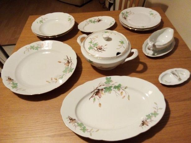 Porcelana Ćmielów - zestaw obiadowy
